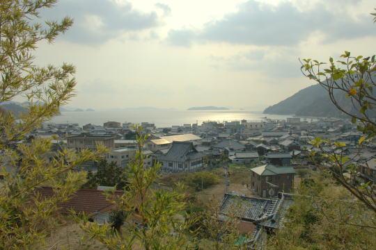 丸子山城 展望