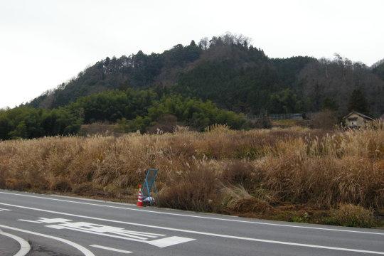 黒岩城 遠景