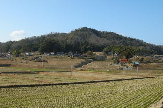 甲山城 遠景