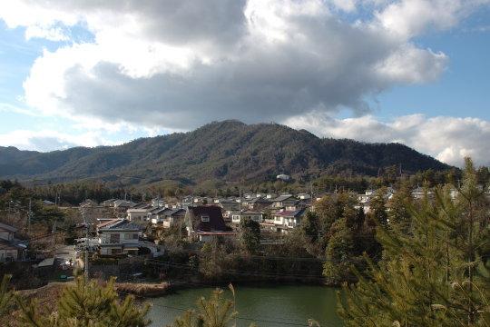 曽場ヶ城 遠景