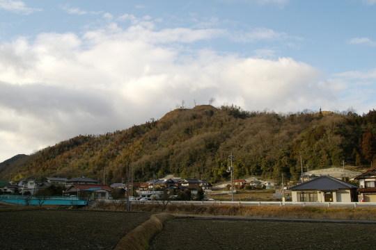 梨羽城 遠景