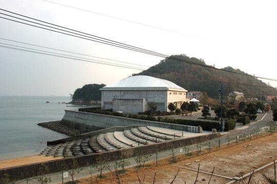 余崎城 遠景