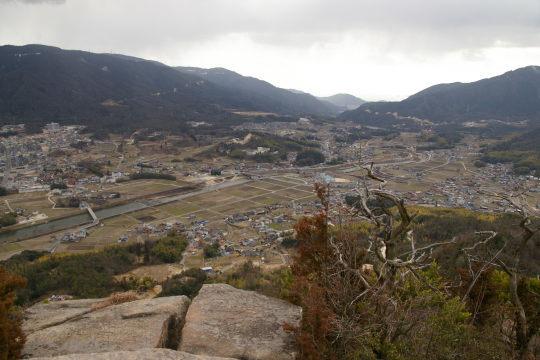 岩山城 眺望