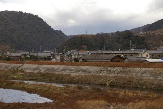 丸子山城 遠景