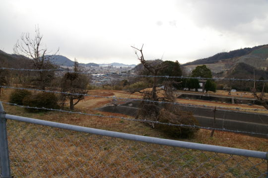 丸子山城 石内浄水場