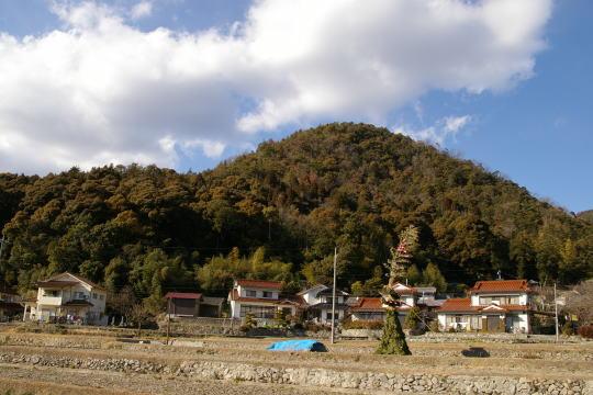 松尾城 遠景