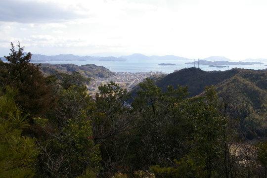 松尾城 南郭からの展望