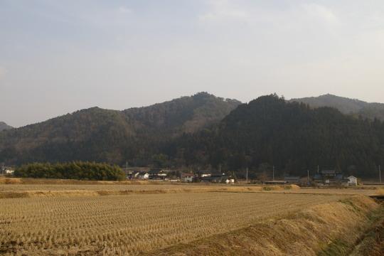 日下津城 遠景