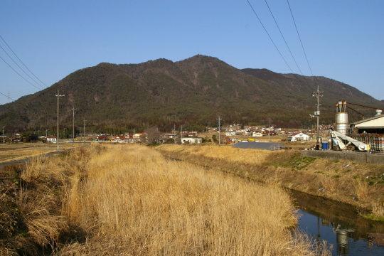 金明山城 遠景