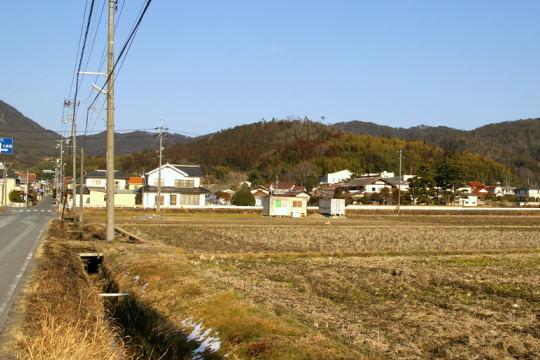 財崎城 遠景