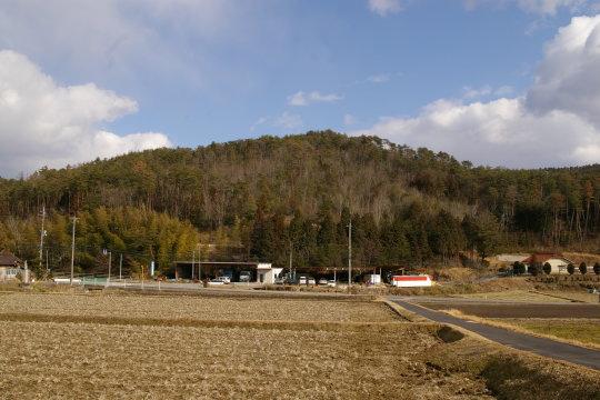 松田城 遠景