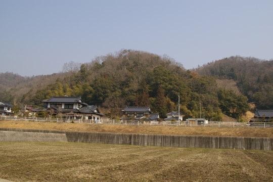 片山城 遠景