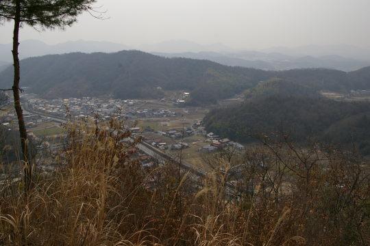 稲村山城 展望