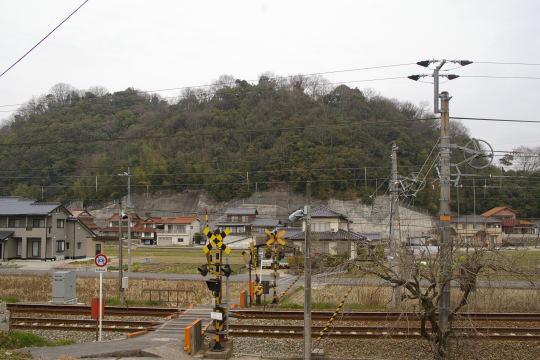 鶴山城 遠景