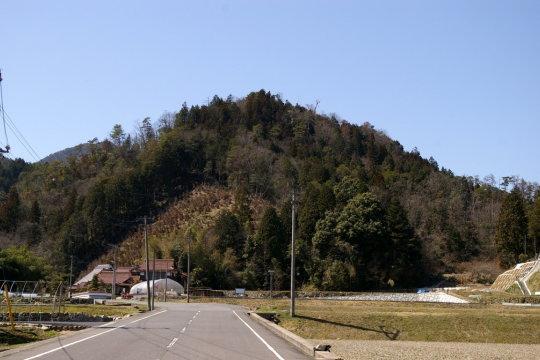 今田城 遠景