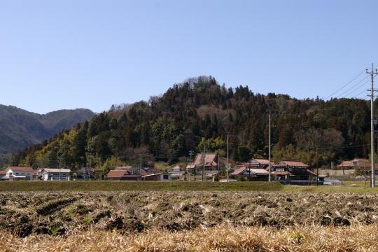 寺原城 遠景