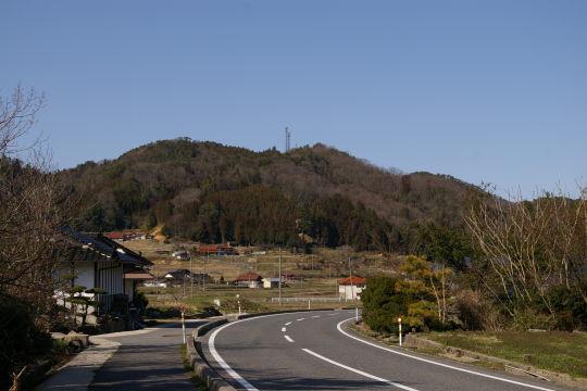 日野原城 遠景