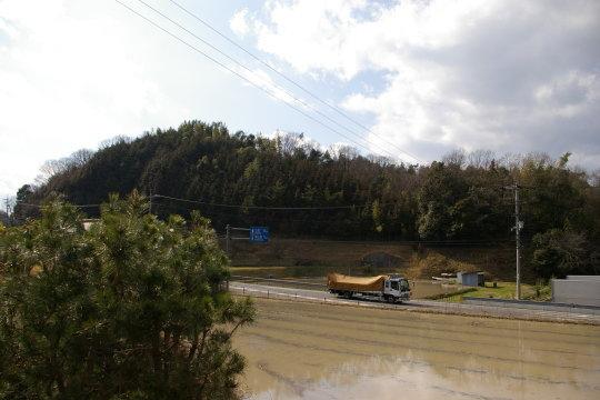 日名内城 遠景