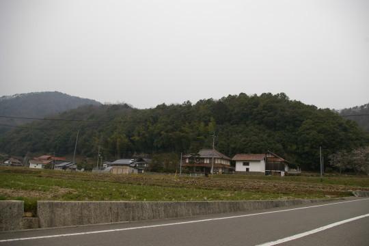 仁後城 遠景