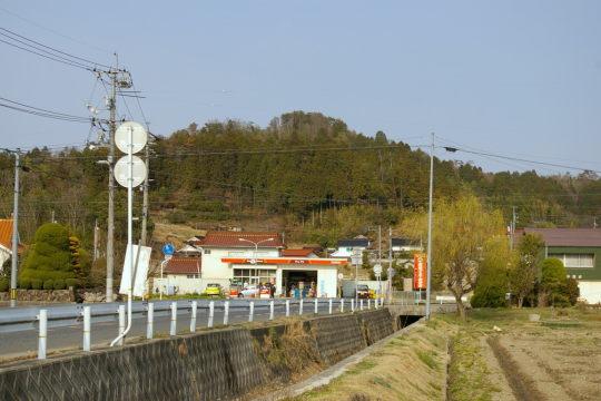 高根山城 遠景