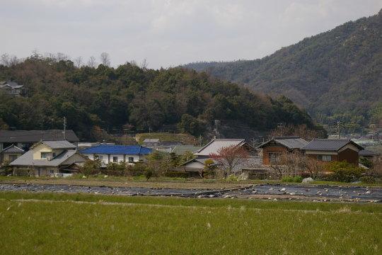 串山城 東側より