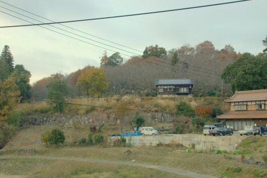 高塚城 遠景